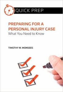 Preparing for a Personal Injury Case